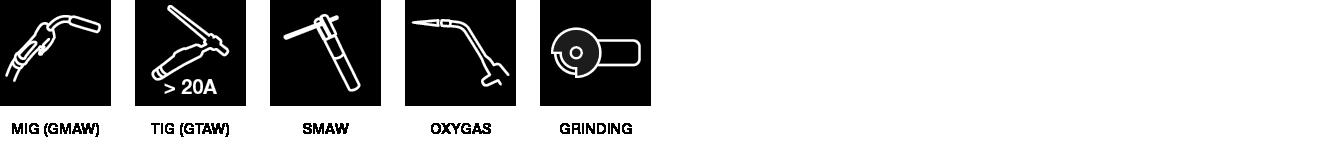Auto welding shield - Lion King applications - SACIT